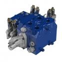 SERIE EX: Distributeurs empilables Load-Sensing Flow-Sharing Hydrocontrol - La gamme des distributeurs empilables Load-Sensing Flow-Sharing de la série EX d'Hydrocontrol est composée de quatre tailles : EX38, EX46, EX54, EX72.<br /> Les EX38 et EX46 sont entre autres particulièrement indiqués pour les applications des tracteurs et des grues forestières.