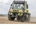 UNIMOG - Venez découvrir, pour la première fois en France, l'UNIMOG homologué en tracteur AGRICOLE.