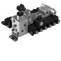 Distributeurs électriques directionnels Série SDE - La gamme de distributeur à commande électrique Walvoil, a été complétée avec la série SDE030, qui grâce à sa grande fiabilité dans toutes les conditions d�utilisation et à un coût compétitif, permet de composer des solutions particulièrement adaptées au secteur agricole.