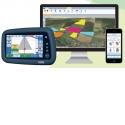 Geofolia - Gestion parcellaire globale (sur PC, tablette, Smartphone, console tracteur) avec guidage, carnet de plaine et cartographie 3 D