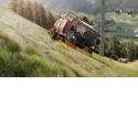 Unitrac 112 L Drive - Transporteur agricole à variation continue pour l'agriculture de montagne.
