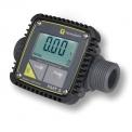 Débitmètre électronique FMT3 - Débitmètre électronique pour diesel, eau ou AdBlue avec écran illuminé et cadran pivotant. Un compteur multi-produit Avec un débit de 5 à 120l/min.