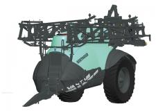 New Vantage : - La nouvelle gamme de pulvérisateurs tractés VANTAGE est composée de 5 modèles de 2800 à 6700 litres avec des rampes allant de 24 jusqu'à 44 m.