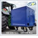 Quick power access - kit génératrices prise de force pour réseau distribution électricité.