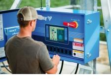"""Nouvelle Génération d'armoires de commande chez Valley® la gamme ICON™ - Écrans tactiles, couleur, 5"""" ou 10"""", etc. A découvrir au stand Hall 5b D 096."""