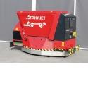 Triomatic Robot d'alimentation automatique avec batterie WB 2 250 - Entraînement par batterie et déplace sans rails.