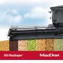 La série de plateformes de coupe de moissonneuse-batteuse FD1 FLEXDRAPER® - Toutes récoltes, toutes conditions! FD1 FLEXDRAPER®