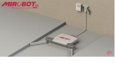 ROBOT PORTE-OUTILS AUTONOME MIROBOT 3.0 - Le MIROBOT 3.0 est un robot porte-outils équipé d'une interface graphique et pilotable à distance au moyen d'une application mobile dont le premier outil développé est une pelle de raclage. Le pilotage et le contrôle à distance peut être réalisé tant par l'utilisateur que par l'installateur et/ou fabricant offrant ainsi à l'agriculteur une plus grande liberté au quotidien et des opérations de maintenance plus faciles à anticiper et réaliser. Ce robot est capable de réaliser des trajectoires complexes pour s'adapter aisément à tous types de bâtiments.