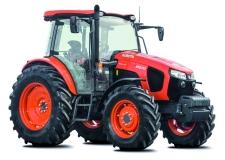 Tracteur M5001 - La nouvelle série Kubota M5001 est composée des modèles M5091 et M5111 (en version cabine et arceau), qui remplacent les anciens M8560 et M9960. Elle complète la série M, initiée par les modèles de la série M7001.