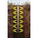 Drill and Drop de SENTEK - Sonde pilotage irrigation Sentek : Humidité mm Température Salinité Longueur 10cm/30cm/60cm/90cm/120cm Toutes cultures