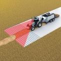 WGS - Système d'aide à la conduite qui détecte et mesure avec précision l'andain. Positionne et  pilote automatiquement la machine agricole.