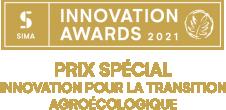 Logo Prix Spécial Innovation pour la transition agroécologique 2021