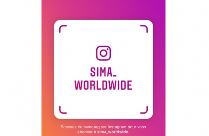 Compte Instagram @sima_worldwide