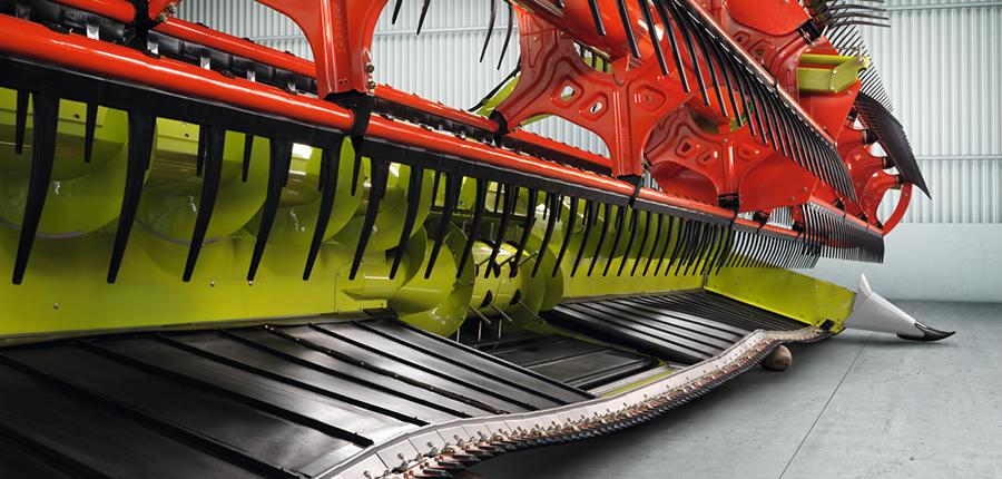 Coupe à tapis flexible de Claas