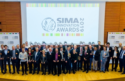 Photo lauréats des SIMA Innovation Awards 2019