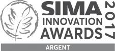 Logo médaille d'argent SIMA Innovation Awards