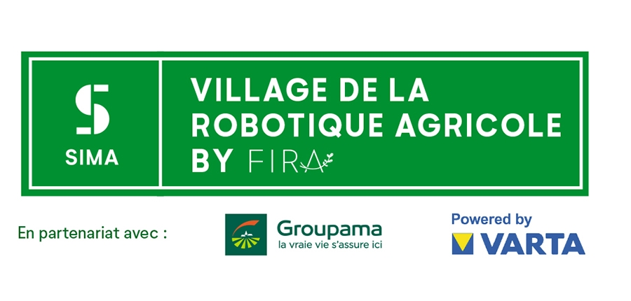 Logo Village de la robotique agricole
