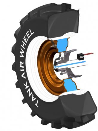 Tank Air Wheel