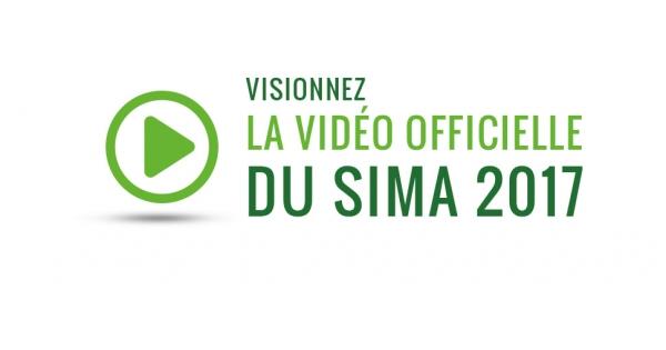 Sima vid o officielle sima - Salon sima 2017 ...